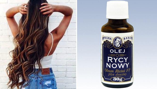 olejek rycynowy na porost włosów forum